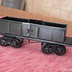 Trenes Escala: ANTIGUO VAGON DE CARGA DE TREN GBN BAVARIA. Lote 243412360