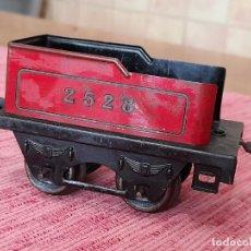Trenes Escala: ANTIGUO TENDER 2528 DE TREN HORNBY, FRANCIA. Lote 243412790