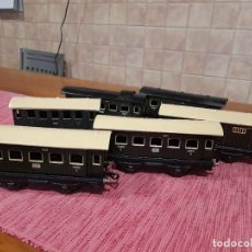 Trenes Escala: LOTE DE 6 VAGONES ANTIGUOS 5201, 4051 Y 2041, MADE IN GERMANY U:S: - ZONE. Lote 243413775