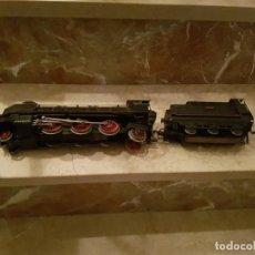 Trenes Escala: LOCOMOTORA DE PAYA SANTA FE 1101 ESCALA 0 CORRIENTE CONTINUA. Lote 243656780