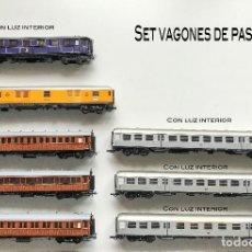 Trenes Escala: CONJUNTO VAGONES. Lote 243972735