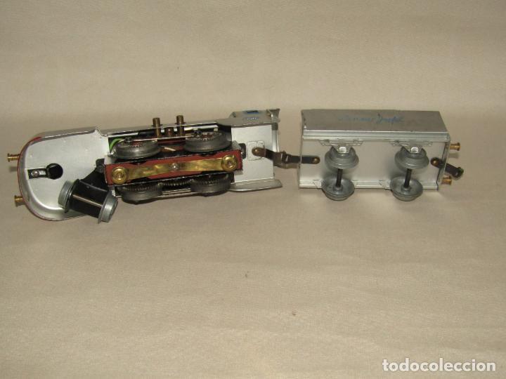 Trenes Escala: Antiguo Tren Completo de Viajeros JOSFEL - Locomotora, Tender, 4 Coches de Viajeros en Caja Original - Foto 17 - 250222965