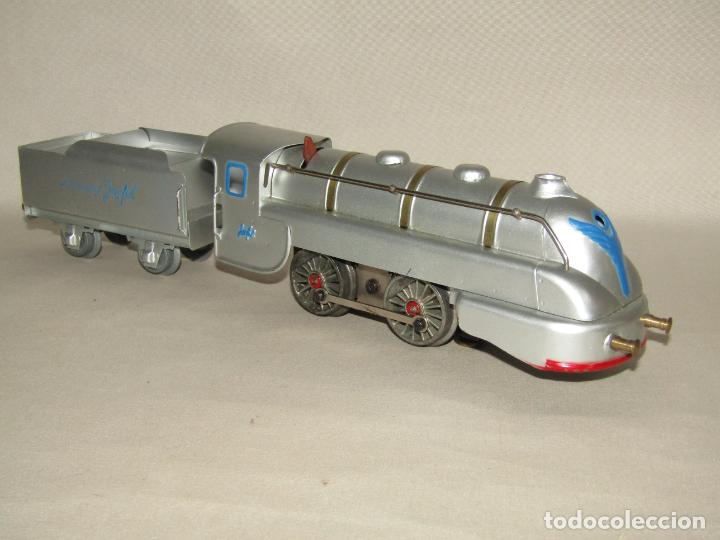 Trenes Escala: Antiguo Tren Completo de Viajeros JOSFEL - Locomotora, Tender, 4 Coches de Viajeros en Caja Original - Foto 21 - 250222965