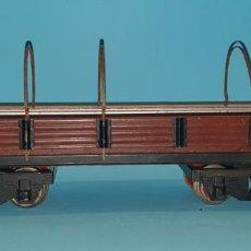 Trenes Escala: VAGON MERCANCIAS CON GARITA DE JOSFEL, (TIPO MANAMO, PAYA, RICO), AÑOS 50.. Lote 251890300