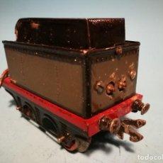 Trenes Escala: TENDER LOCOMOTORA PAYA 987 GRIS VERDISO. LUZ. Lote 252602020