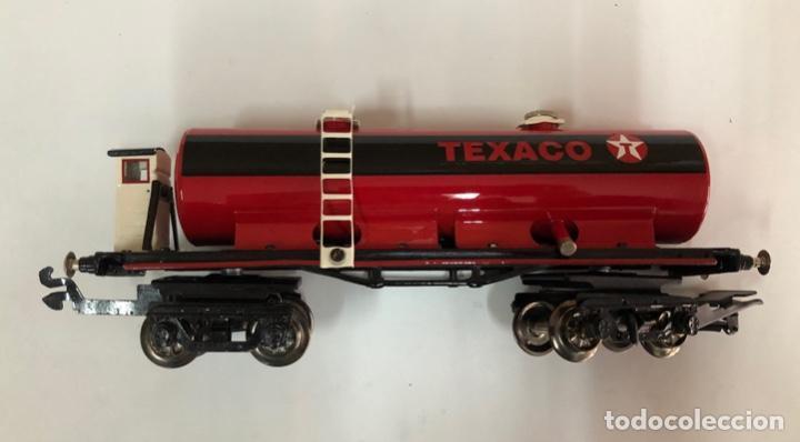 VAGÓN PAYÁ TEXACO (Juguetes - Trenes Escala 0)