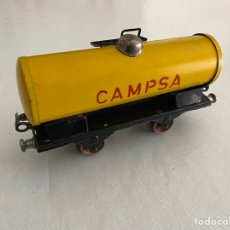 Trenes Escala: VAGON CISTERNA PAYA CAMPSA ESCALA 0. Lote 255547980