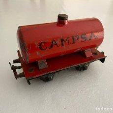 Trenes Escala: VAGON CISTERNA CAMPSA JOSFEL ESCALA 0. Lote 255548220