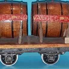 Trenes Escala: VAGON CUBAS-BODEGAS VALDESPINO - DE MANAMO (TIPO JOSFEL, RIBAS, ELECTROTREN), AÑOS 40.. Lote 257332045