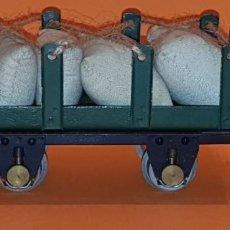 Trenes Escala: VAGON JOSFEL DE ESCALA 0, AÑOS 50. (TIPO RIBAS, MANAMO, PAYA)). Lote 213862938