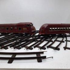 Trains Échelle: LOCOMOTORA VAGON ESCALA 0 Y 13 VIAS PAYA RICO MARKLIN LIONEL. Lote 267059889