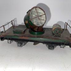 Trenes Escala: VAGON DE TREN CON FOCO, MARCA MANAMO. PRINCIPIOS S.XX.. Lote 269704593