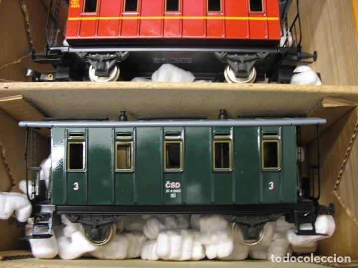 Trenes Escala: set completo en escala 0 - Foto 2 - 272861588