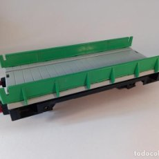 Trenes Escala: VAGÓN PLAYMOBIL PARA LGB, GALGA G, 30 CM DE LARGO, ENVIO 5,80 EUROS, LOT 16. Lote 278552738