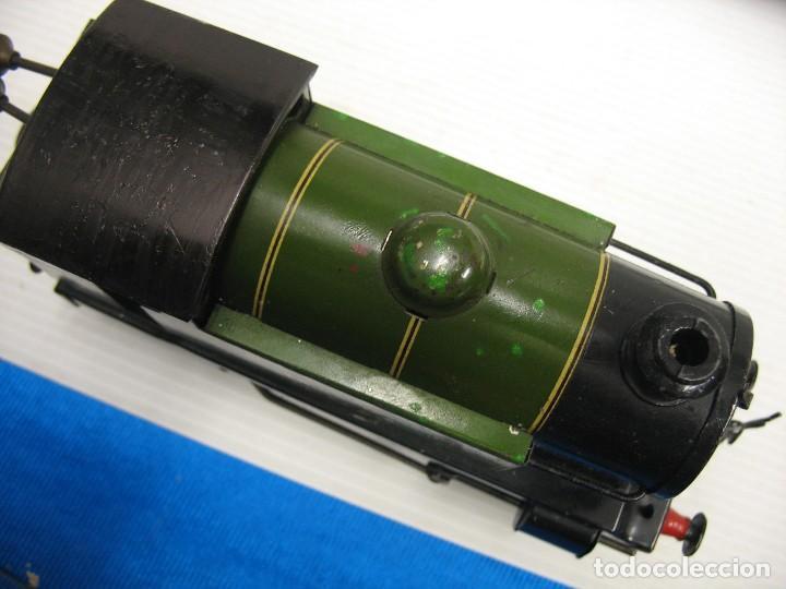 Trenes Escala: locomotora hornby a cuerda - Foto 16 - 278963573