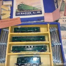 Trenes Escala: ANTIGUO TREN L R LE RAPIDE, PARIS, FUNCIONANDO.. Lote 281825128