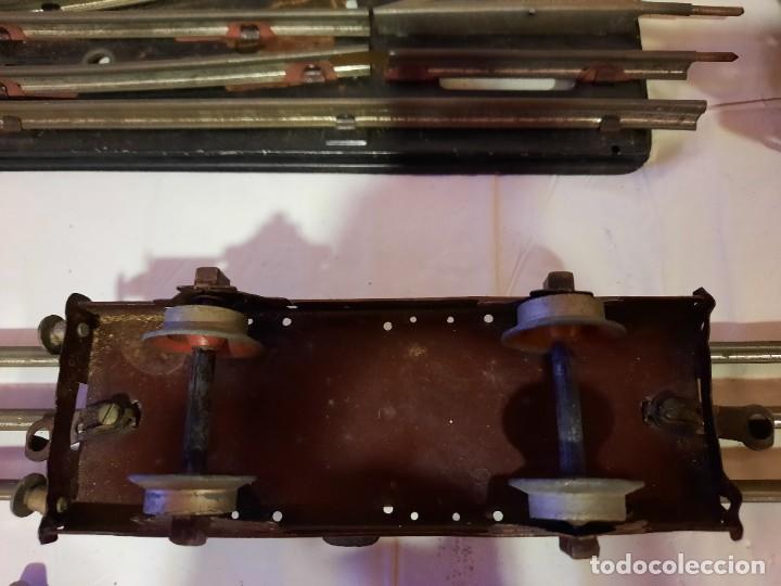 Trenes Escala: VAGON PAYA 1VAGON PAYÁ 13 CURVAS 1 CRUCE VIAS 1 POSTE PASO NIVEL ESCALA 0 ESTILO RICO - Foto 5 - 284662733