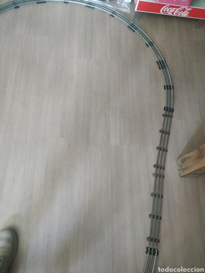 Trenes Escala: Circuito 0 con locomotora y tender francesa sncf - Foto 3 - 286802503