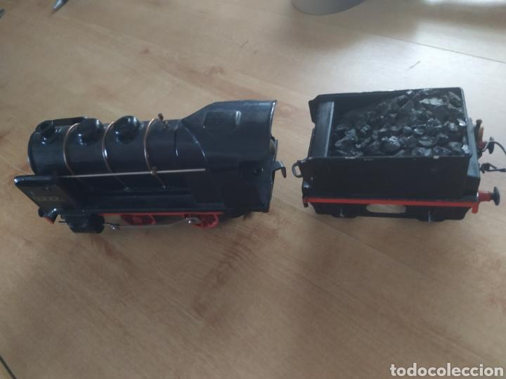 Trenes Escala: Circuito 0 con locomotora y tender francesa sncf - Foto 4 - 286802503