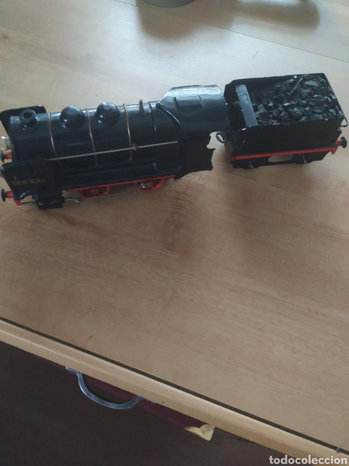 Trenes Escala: Circuito 0 con locomotora y tender francesa sncf - Foto 6 - 286802503