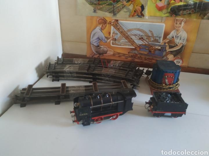 Trenes Escala: Circuito 0 con locomotora y tender francesa sncf - Foto 15 - 286802503