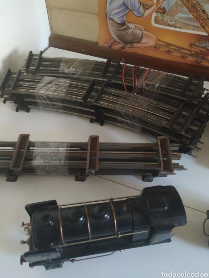 Trenes Escala: Circuito 0 con locomotora y tender francesa sncf - Foto 16 - 286802503