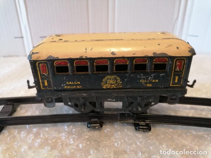 Trenes Escala: Vagón Pullman de Hornby escala 0 - Foto 2 - 287956033