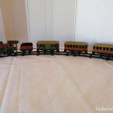 Trenes Escala: TREN COMPLETO CR AÑOS 20 MECÁNICO. Lote 287959203