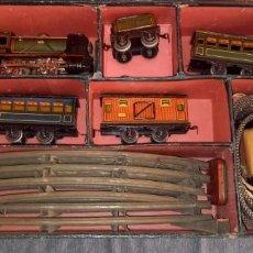 Trenes Escala: LOTE TREN PAYA MAQUINA FUNCIONA. Lote 287994698