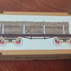 Trenes Escala: CAJA VAGON TRONCOS PAYA - ESCALA 0. Lote 289848043
