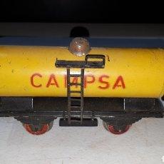 Trenes Escala: VAGON CISTERNA CAMPSA POSIBLEMENTE RICO SIN TOPES SIN MARCA. Lote 293220508