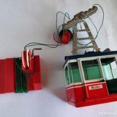 Trenes Escala: LEHMANN LGB ESCALA 0, TELEFÉRICO. EN CAJA. TAL CUAL FOTOS. VÁLIDO PARA PLAYMOBIL. Lote 294084308