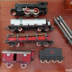 Trenes Escala: TREN LOCOMOTORA SANTA FE. RAI PAYÁ. AÑOS 40. VER FOTOS. ESCALA 0.. Lote 295773233