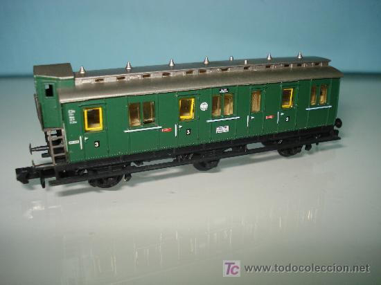 Trenes Escala: COCHE COMPARTIMENTOS 3ª CLASE CON GARITA DE ARNOLD EN -N- de la REIHCSBAHN IMPECABLE. . - Foto 2 - 27283755
