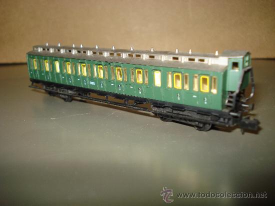 Trenes Escala: Coche Prusiano a Compartimentos 3ª Clase con Garita Guardafrenos de la KPEV en escala *N* de ARNOLD. - Foto 4 - 27011885