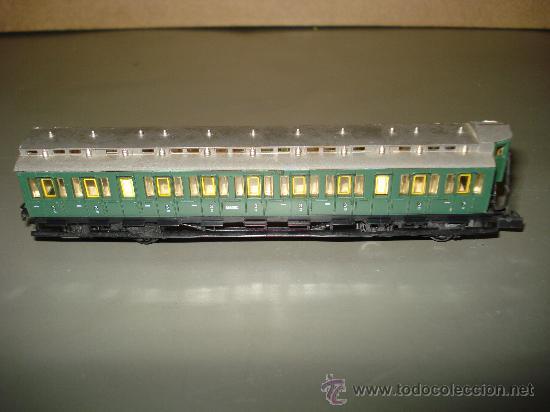 Trenes Escala: Coche Prusiano a Compartimentos 3ª Clase con Garita Guardafrenos de la KPEV en escala *N* de ARNOLD. - Foto 3 - 27011885
