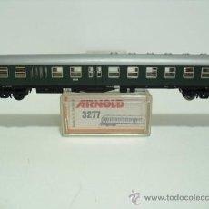 Trenes Escala: ARNOLD 3277 - CENTRO DE AUTO ENTRADA, DE 2 ª CLASE VERDE, DB (B72)-ESC N-. Lote 30114941