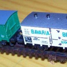 Trenes Escala - VAGONES ARNOLD Y TRIX ESCALA N. FURGON Y CERRADO CON GARITA. - 36315593