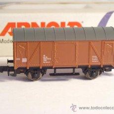 Trenes Escala: ARNOLD RAPIDO ESCALA N REF 5903 VAGON MERCANCIAS CERRADO 946 0774 DE LA DR. Lote 38081242