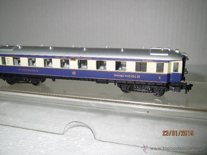 Trenes Escala: Descatalogado Coche 2ª Clase RHEINGOLD en Escala *N* Ref. 3313 de ARNOLD - Foto 2 - 47366529