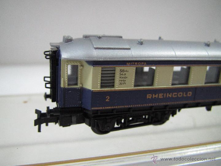 Trenes Escala: Descatalogado Coche 2ª Clase RHEINGOLD en Escala *N* Ref. 3313 de ARNOLD - Foto 3 - 47366529