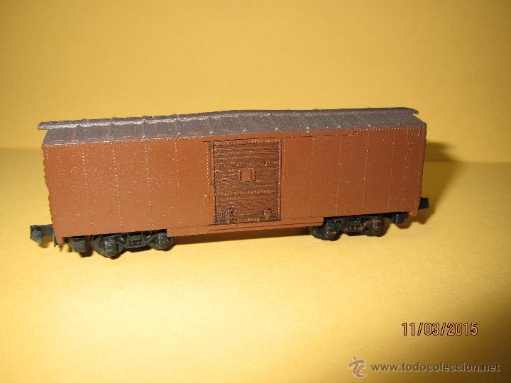Trenes Escala: Vagón Cerrado Americano en Escala *N* de ARNOLD - Foto 3 - 48337809