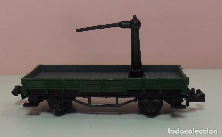 Trenes Escala: ARNOLD N - Vagón abierto apoyo de grúa - Foto 4 - 69938757