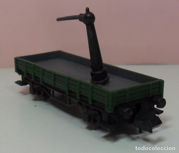 Trenes Escala: ARNOLD N - Vagón abierto apoyo de grúa - Foto 5 - 69938757