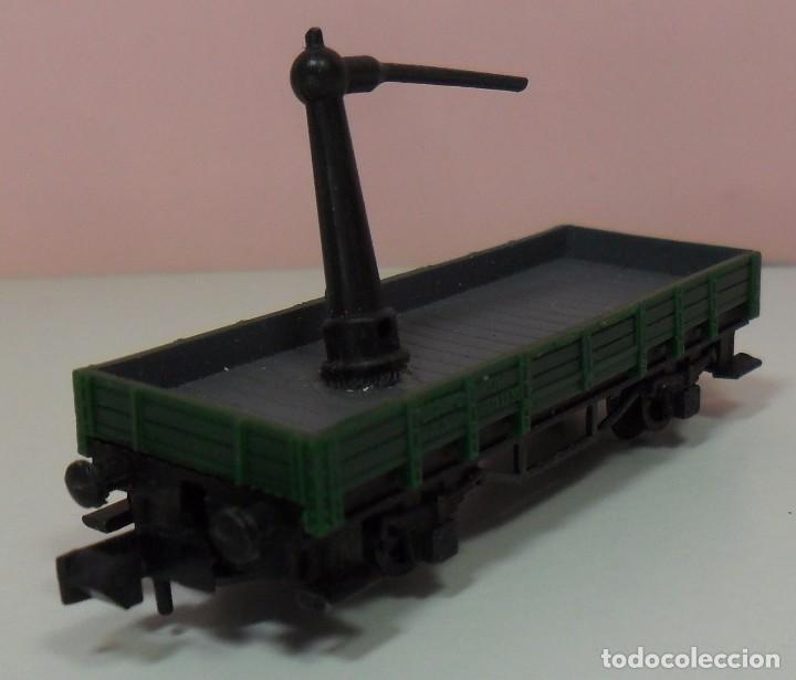 Trenes Escala: ARNOLD N - Vagón abierto apoyo de grúa - Foto 6 - 69938757