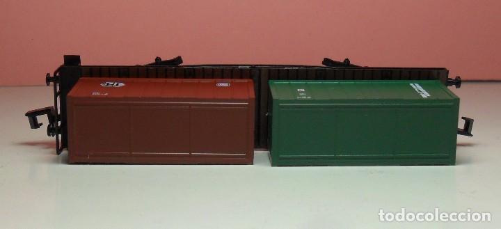 Trenes Escala: ARNOLD N - 4954 - Vagón de DG contenedores de TFG y JEURO - Con caja original - Foto 8 - 71133661