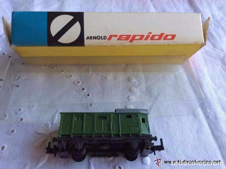 VAGÓN ARNOLD RAPIDO, 5 CM ,IDEAL COLECCIONISTAS (Juguetes - Trenes a Escala N - Arnold N )