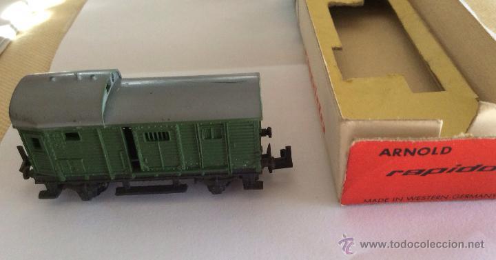 Trenes Escala: Vagón Arnold Rapido, 5 cm ,ideal coleccionistas - Foto 3 - 75711939