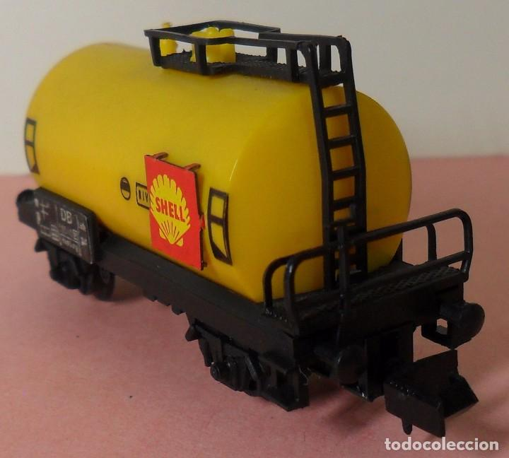 Trenes Escala: ARNOLD N - Vagón cisterna SHELL - Foto 3 - 77948693