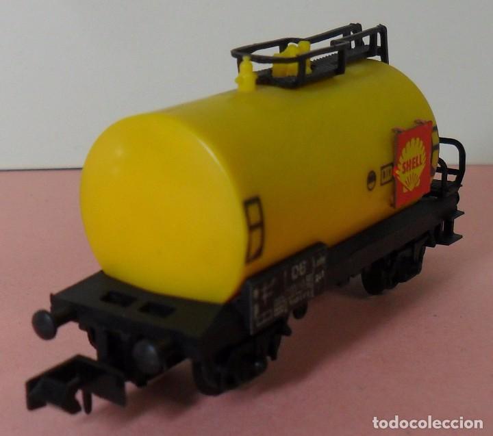 Trenes Escala: ARNOLD N - Vagón cisterna SHELL - Foto 5 - 77948693